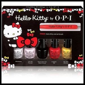 Hello Kitty OPI Nail set